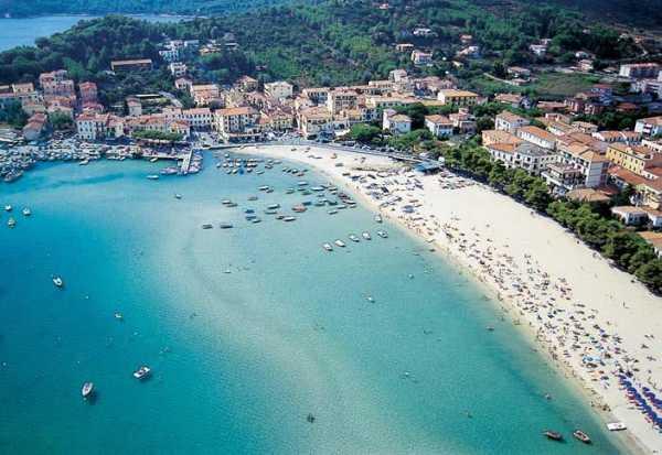 La spiaggia di Marina di Campo